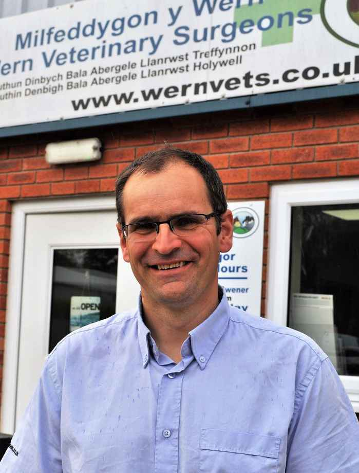 Dyfrig Williams of Wern Vets