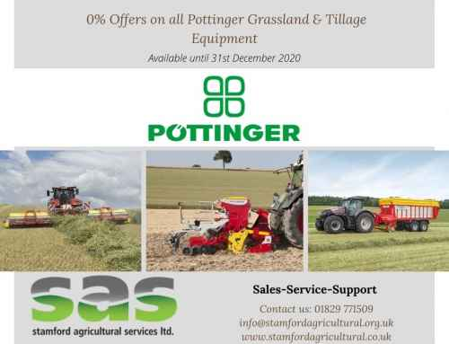 0% Offers on all Pottinger Grassland & Tillage Equipment